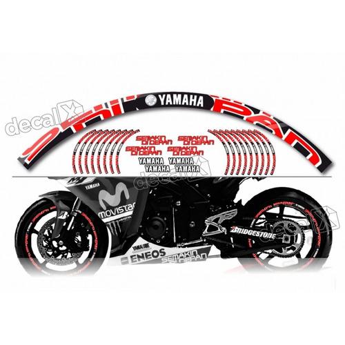 Kit Adesivo Refletivo Roda Moto Yamaha Fri21