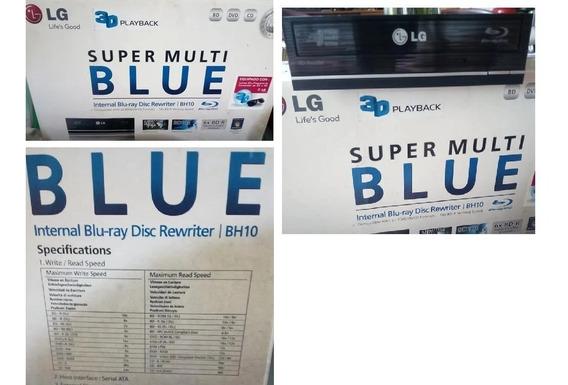 Reproductor Quemador Blu Ray Dvd LG Bh-10 Sata Tienda