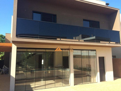 Sobrado Com 4 Dormitórios À Venda, 320 M² Por R$ 1.600.000 - Condomínio Saint Gerard - Ribeirão Preto/sp - So0416