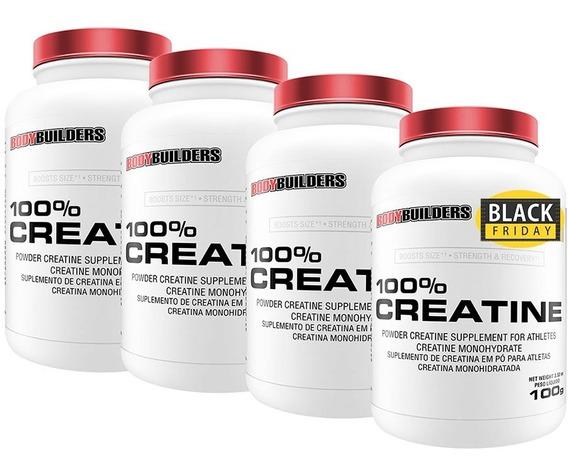 Combo 4x 100% Creatina 100g - Bodybuilders
