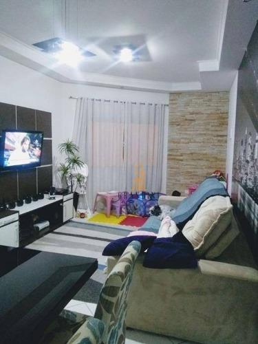 Sobrado Com 2 Dormitórios À Venda Por R$ 466.000 - Vila Bela Vista - Santo André/sp - So0076