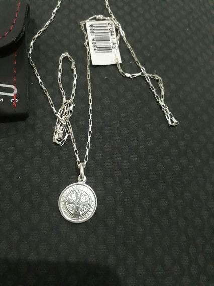 Colar Em.prata Rosso Italia Com.pingente Em.prata De Veneza