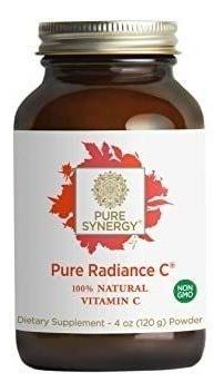 Pure Synergy Pure Radiance C (4 Oz Powder) 100% Natural Vita