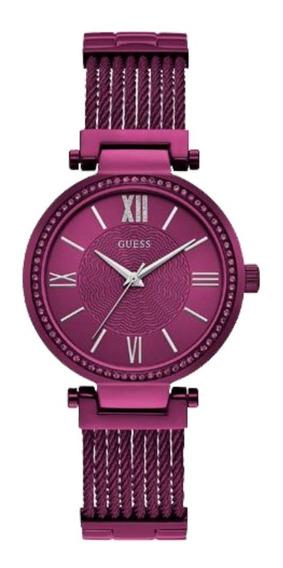 Relógio Feminino Guess Roxo 92580lpgdfa5 Original C/ Nfe