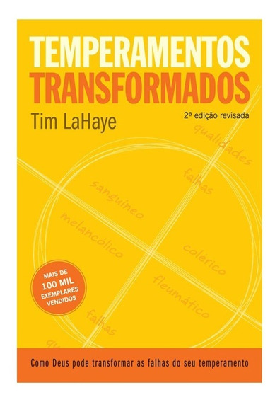 Temperamentos Transformados Livro Tim Lahaye