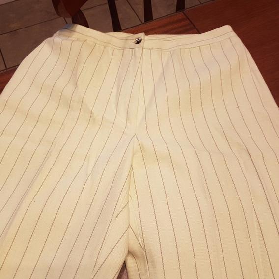 Pantalon Rayado Aida Talle S/m