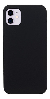 Funda Silicone Case Soft iPhone 11 Negro