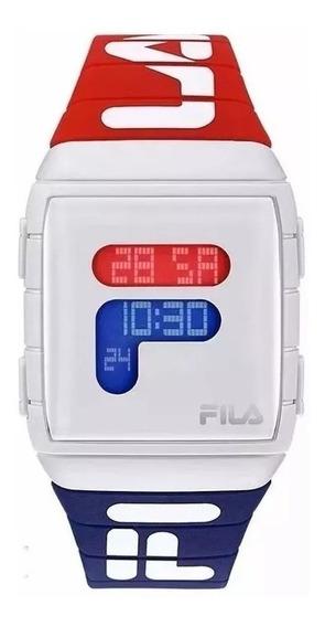 Relógio Fila Unissex Digital Esportivo Promocao Imperdivel
