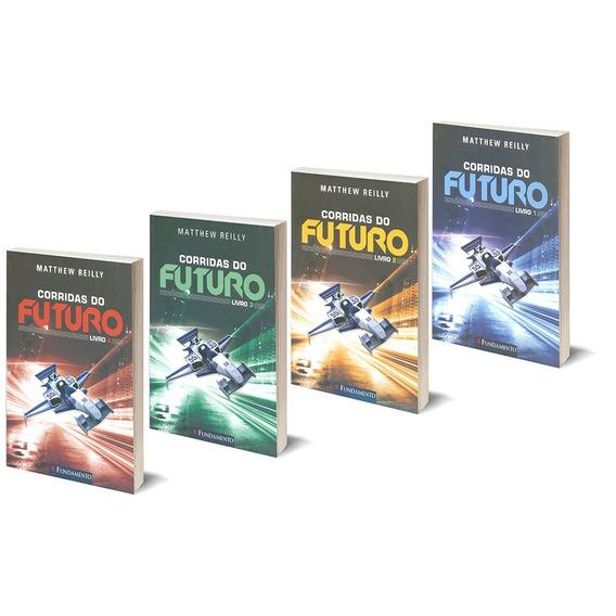 Livro Infanto Juvenil Corridas Do Futuro Coleção Em 4 Vols.