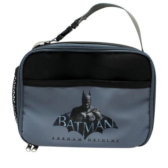 Lancheira Térmica 2 Bolsos Batman Arkaham Origins 10070900