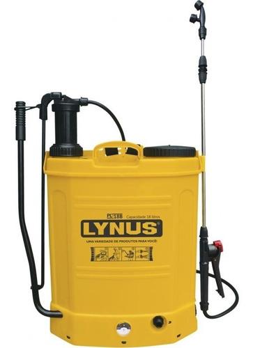 Pulverizador Costal À Bateria 18 Litros Pl-18b Lynus