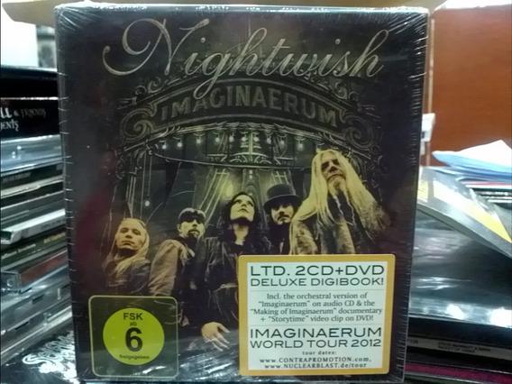 Nightwish Imaginaerum 2 Cd Dvd Digibook Deluxe 2012 Agotado