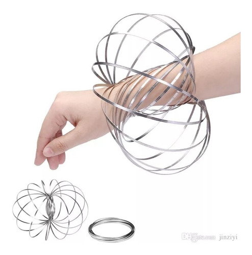 Anillo Magico Juguete Moda 3d Magic Ring Anti Estrés Relajan