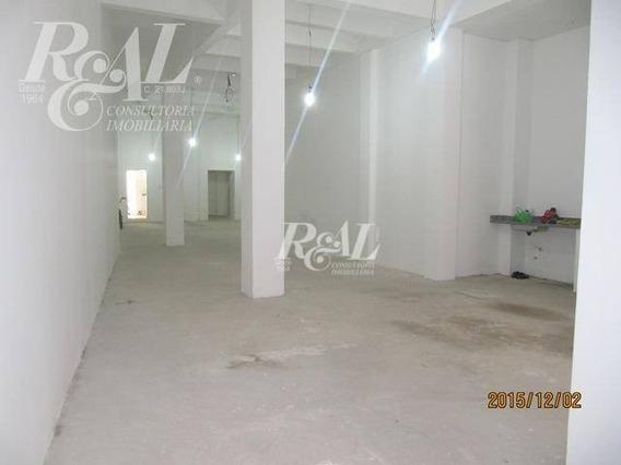 Prédio Comercial Para Locação, Centro, Santos - Pr0007. - Pr0007