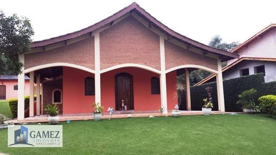 Casa Residencial À Venda, Condomínio Fechado, Atibaia - Ca0550. - Ca0550