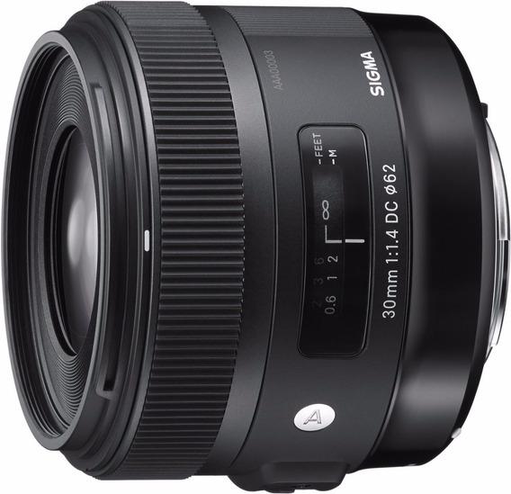 Lente Sigma Objetivo 30mm F/1.4 Dc Hsm Art Para Canon