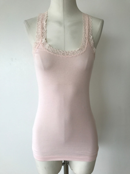Musculosa Abercrombie And Fitch Con Encaje Talle S - Nueva