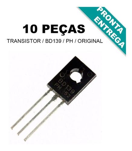 Imagem 1 de 1 de Bd139 * Transistor Bd139-16 * Original * Ph * (10 Unidades)