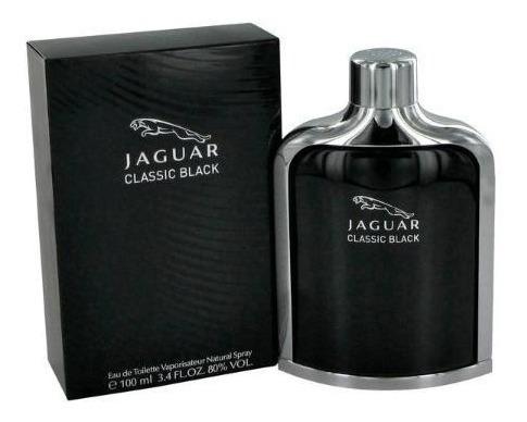Perfume Jaguar Classic Black Edt 100ml Lacrado E Original