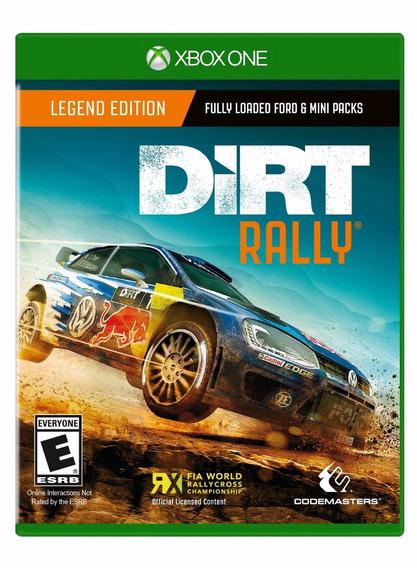Dirt Rally - Xbox One - Pronta Entrega! Nacional!
