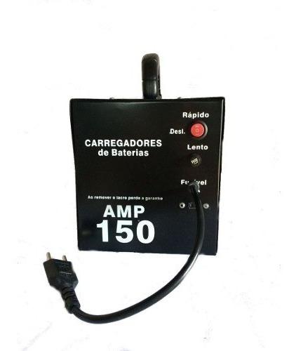 Fonte Automotiva Carregador De Bateria 150 Amp Com Led Kn-c