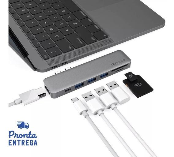 Adaptador Hub Macbook Pro / Air Usb C Hdmi 4k Dodocool