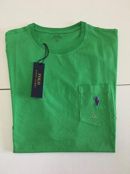 Remeras Classic Fit Pocket Bright Colors Polo R. L (25% Off)