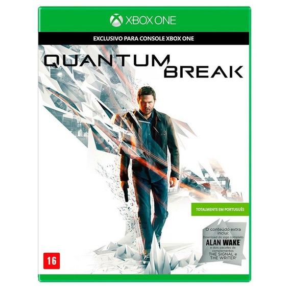 Jogo Quantum Break Xbox One Midia Fisica Nfe