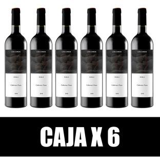 Los Coros 0167 Roble Cabernet Franc 2018 - Caja X 6 U.
