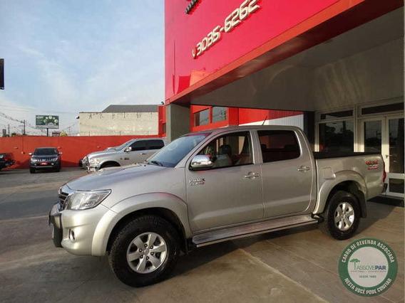 Toyota Hilux Cd Srv D4-d 4x4 3.0 Tdi Diesel Aut 2014