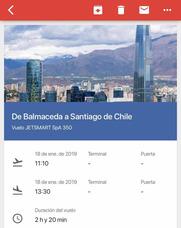 Pasajes En Avion Santiago - Balmaceda (coyhaique)