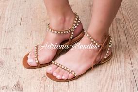 b67dc6835b Gladiadoras Outras Marcas Tamanho 33 Feminino - Sandálias e Chinelos ...
