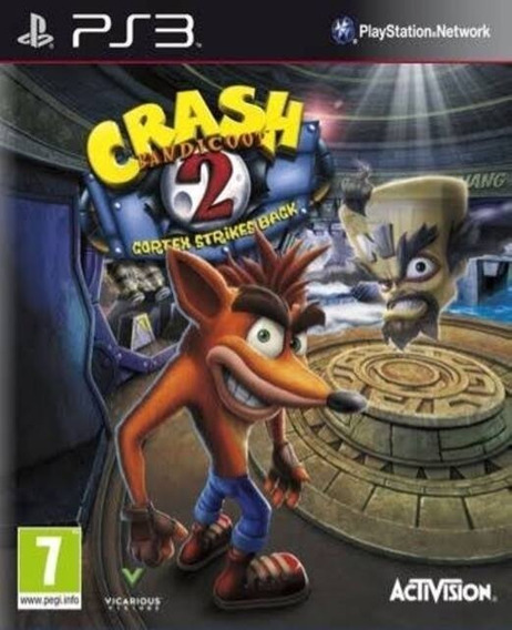 Crash Bandicoot 2 (ps3)classic Ps1 Playstation 3 Jogo Compra