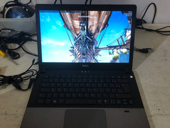 Notebook Gamer Dell E5480 I5 8gb Ssd480gb Geforce2gb Vitrine