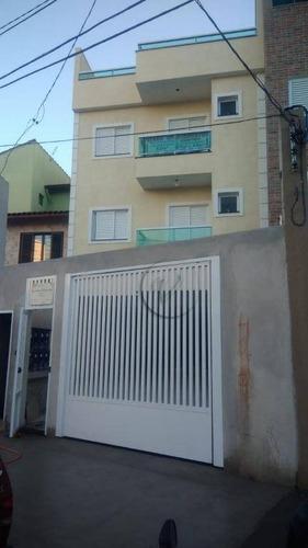 Imagem 1 de 30 de Cobertura Com 2 Dormitórios À Venda, 57 M² Por R$ 360.000,00 - Vila Pires - Santo André/sp - Co0677