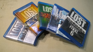 Lost Serie Completa - 6 Box Set 36 Discos Blu-ray Usa Nm