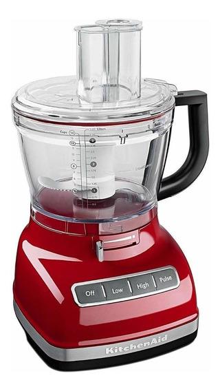 Procesador de alimentos KitchenAid KFP1466 empire red 110V