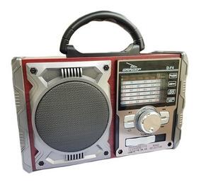 Rádio Portátil Bluethoot/am/fm/usb 8w Rms D-f4-g