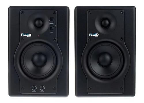 Monitor De Referência Ativo Fluid Audio F4 Ativo -par