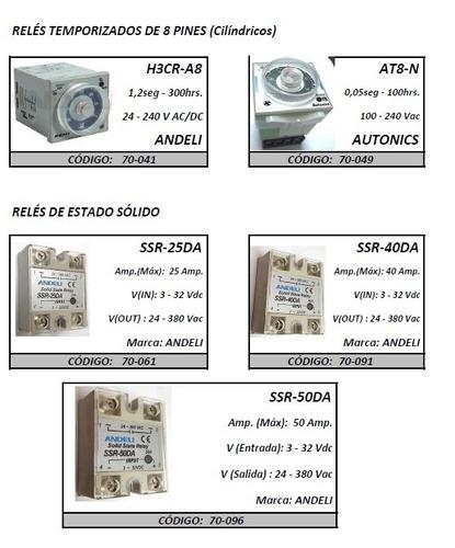 Rele Estado Solido Ssr-25da 25 Amp.  Marca Andeli