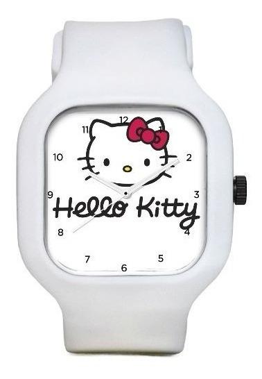 Relogio Hello Kitty A Prova Dagua Troca Pulseiras