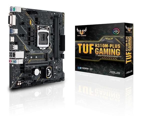 Placa-mãe Asus Tuf H310m-plus Gaming/br Lga 1151 Matx Ddr4