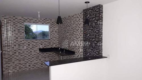 Imagem 1 de 20 de Casa Com 2 Dormitórios À Venda, 76 M²- Maria Paula - São Gonçalo/rj - Ca0634