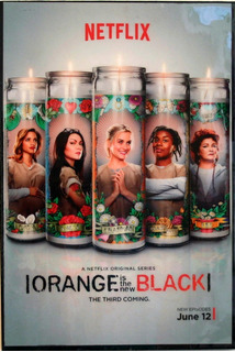 Orange Is The New Black Poster Enmarcado Serie Tv