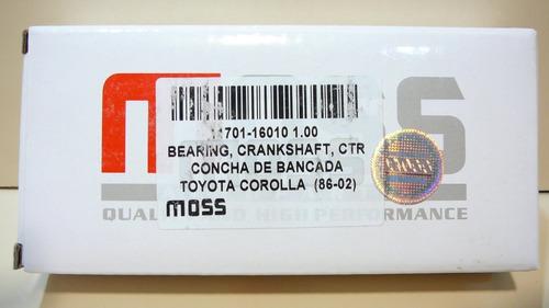 Conchas De Bancada 030 Corolla Pantalla Sapito 1.6 1.8