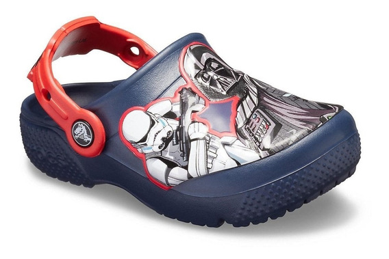 Crocs Originales Fl Star Wars Dark Side Nene C205296 Asfl70