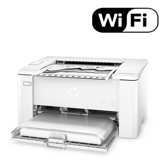 Impressora Hp Laserjet Pro M102w Monocromática Wifi 110v Envio Imediato