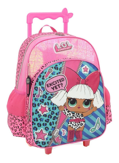 Mochilete Lol Surprise! Diva Pink Gliter G- 33002