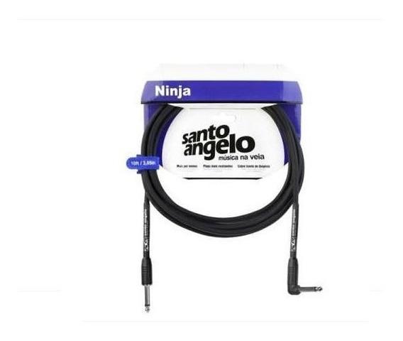 Cabo Santo Angelo Ninja 4,57m Guitarra Baixo Violão