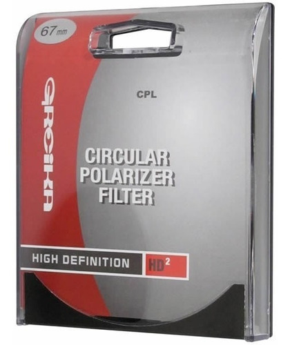 Filtro Polarizador Circular 67mm - Greika